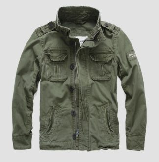 Куртка Boundary Peak Jacket (Abercrombie & Fitch) olive green