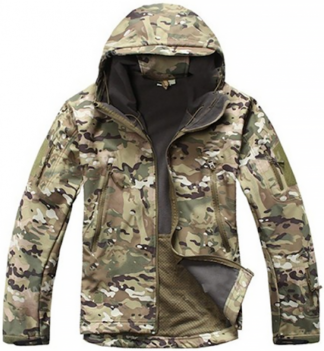 Куртка Shark Skin Soft Shell multicam